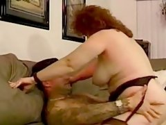 Perky obese honey gets screwed