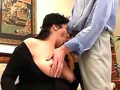 Chubby mature hard fucked by guy